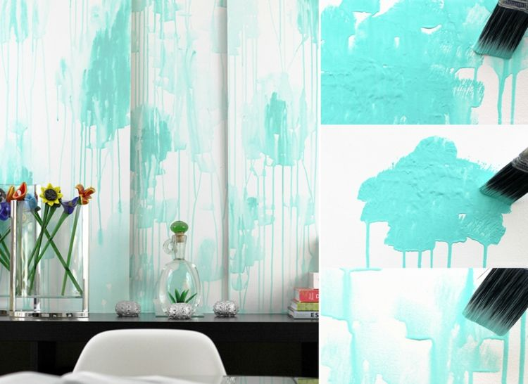 Aquarell Wandfarbe Fur Eine Kunstvolle Wandgestaltung In Jedem Raum Tapete Wallmural Ombre Wand Wasserfarben Str Wandgestaltung Aquarell Tapete Wandfarbe