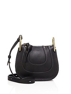 721b29350392 Chloé Hayley Nano Leather Hobo Bag - Black. Leather Hobo BagsNano233Shoulder  ...