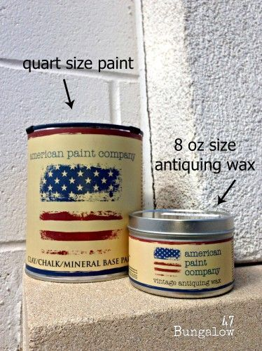American Paint Company Paint Cans And Antiquing Wax Can Paint Available In 30 Colors Antiquing Wax Comes In Both Dark And Light American Paint Company American Paint Paint Companies