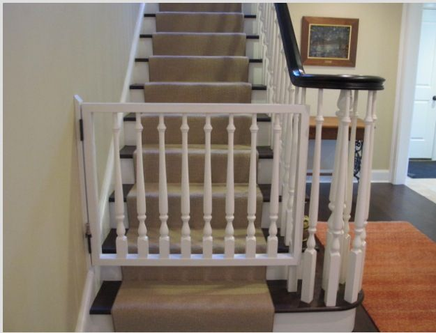 Custom Baby Gate Match Spindles From Staircase Baby Gate For