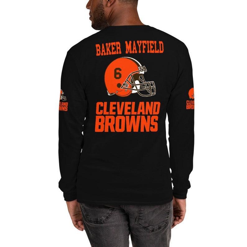 Baker Mayfield Long Sleeve TShirt Long sleeve, Long