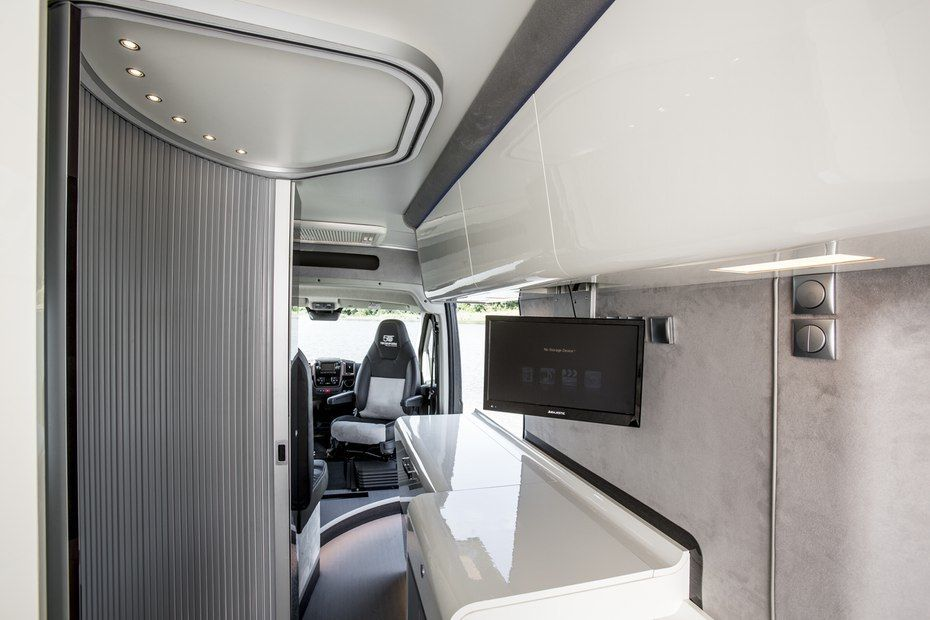 Fiat Worked On The Ducato 4x4 Concept Cabin With Italian Rv Yacht