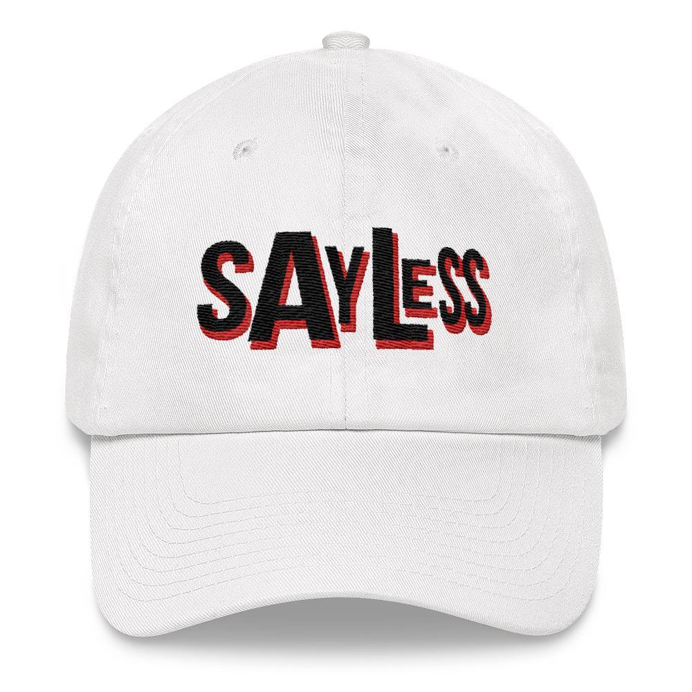 Say Less Black Print Dad Hat in 2019  3c4408cfd86