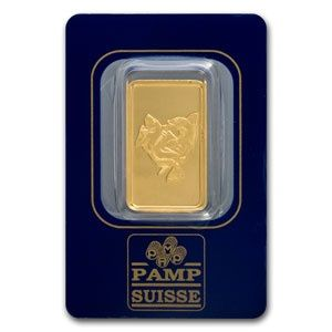 Pamp Suisse 10 Gram Pisces Gold Bar 9999 Fine In Assay Gold Silver Coins Pisces