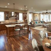 Interior Design Ideas Minimalist Classical Modern Combination Model Denah Lantai Rumah Ruang Makan Dapur Dekorasi Rumah Dapur