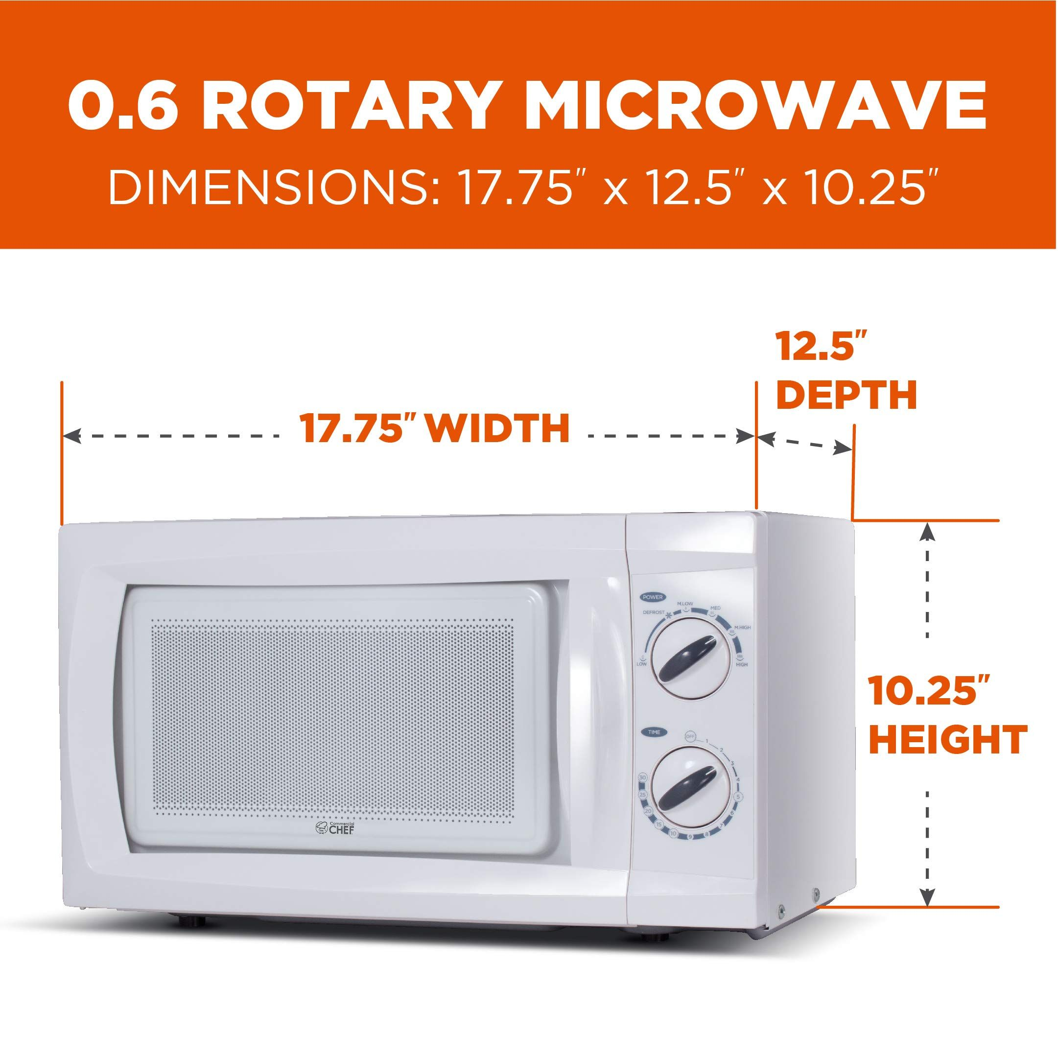 Commercial Chef Counter Microwave Chm660w In 2020 Microwave Microwave Oven Microwave Dimensions
