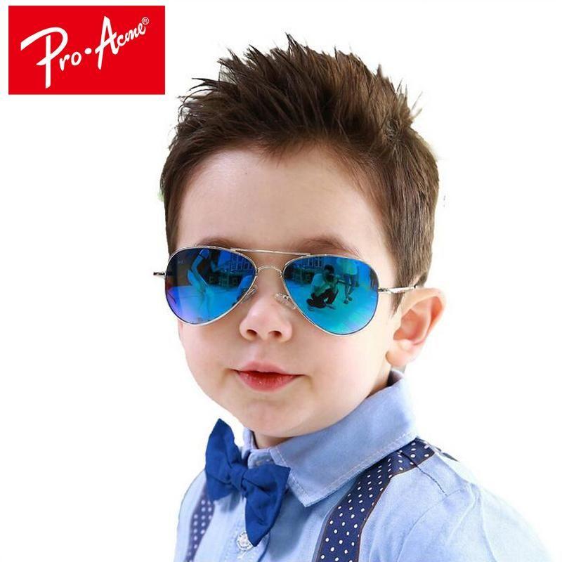 96cd92c73a Fashion Kids Sunglasses Pilot Children Sun glasses Pilot Baby Sunglasses 100 %UV Protection