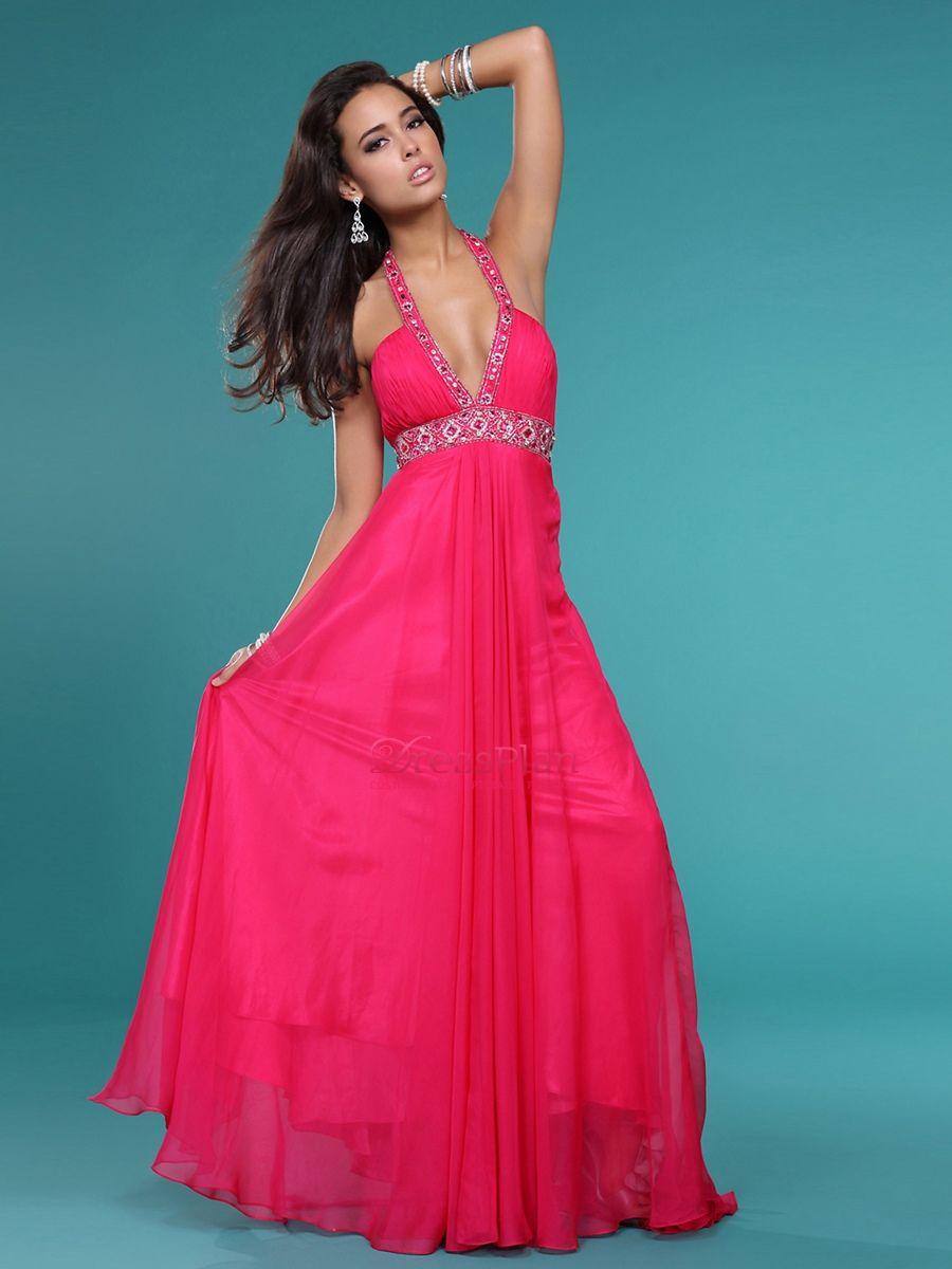 Vestido fucsia 6 | Vestidos largos | Pinterest | Vestido fucsia ...