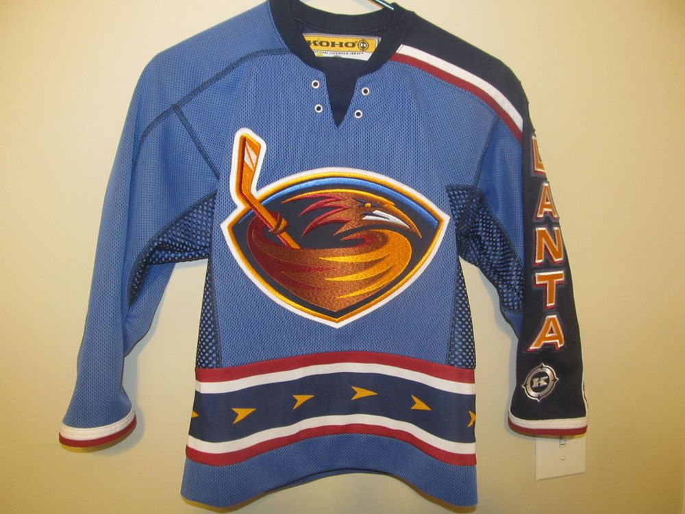 cdbe11b13ec Atlanta Thrashers Authentic Hockey jersey - KOHO Youth small / Medium #KOHO  #AtlantaThrashers