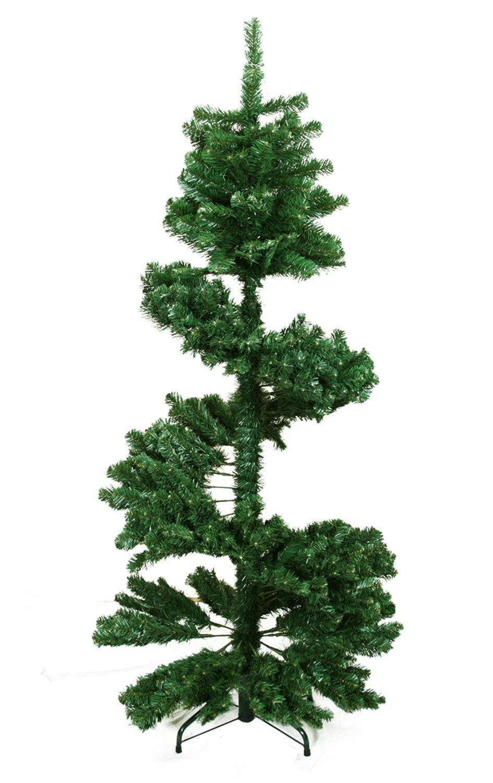 5.5\' Spiral Pine Artificial Christmas Tree - Unlit | Pinterest ...