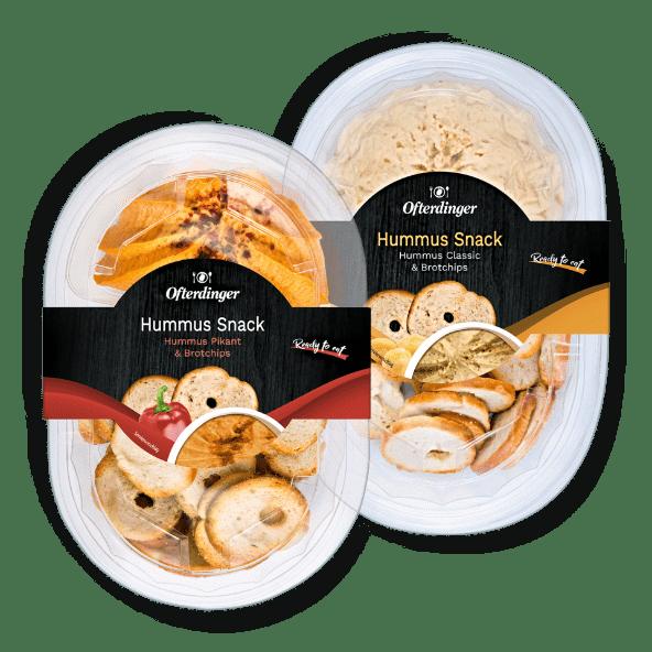 OFTERDINGER Hummus Snack von ALDI Nord (mit Bildern