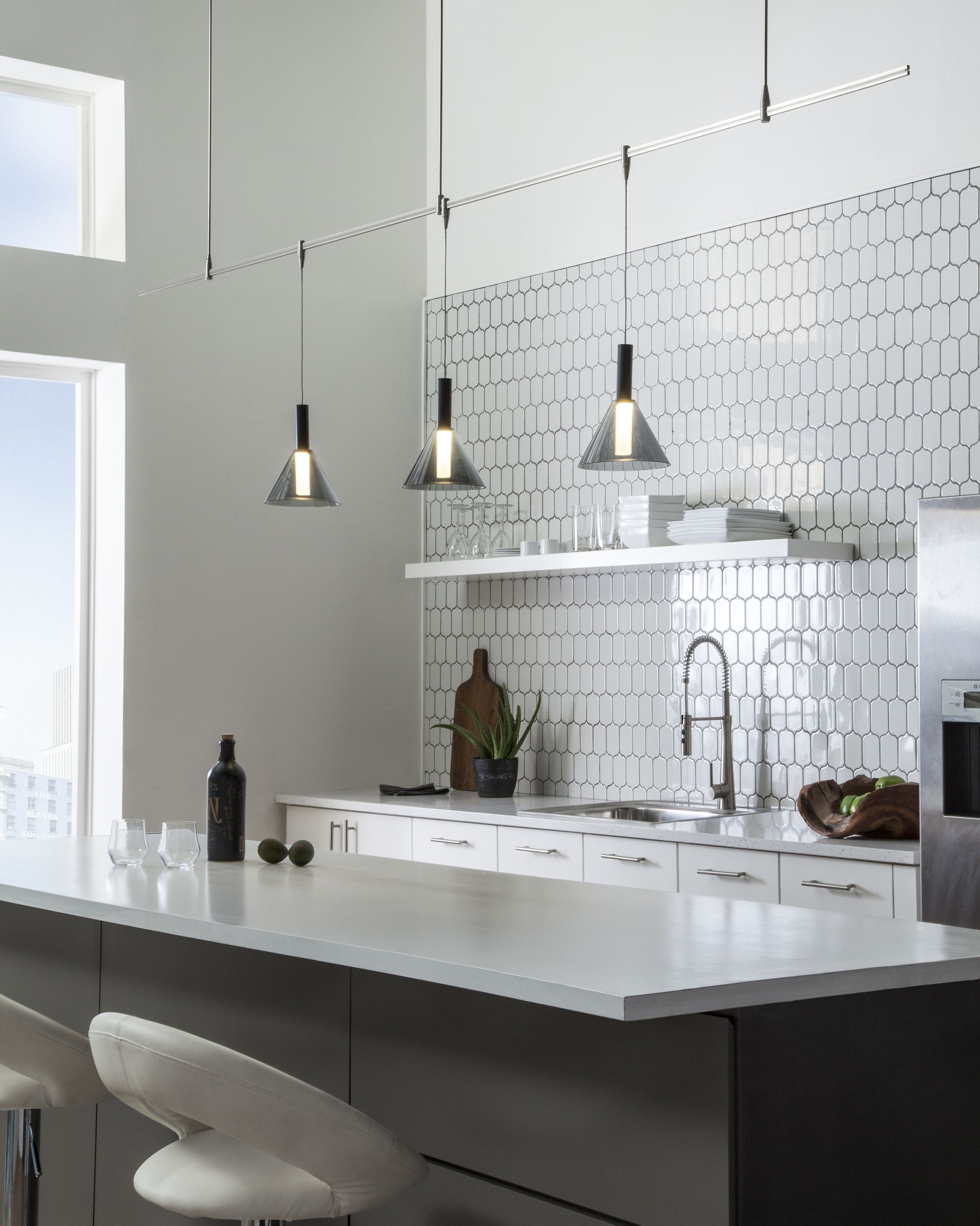 Pin by Susan Faulhaber on Laura Track lighting kitchen