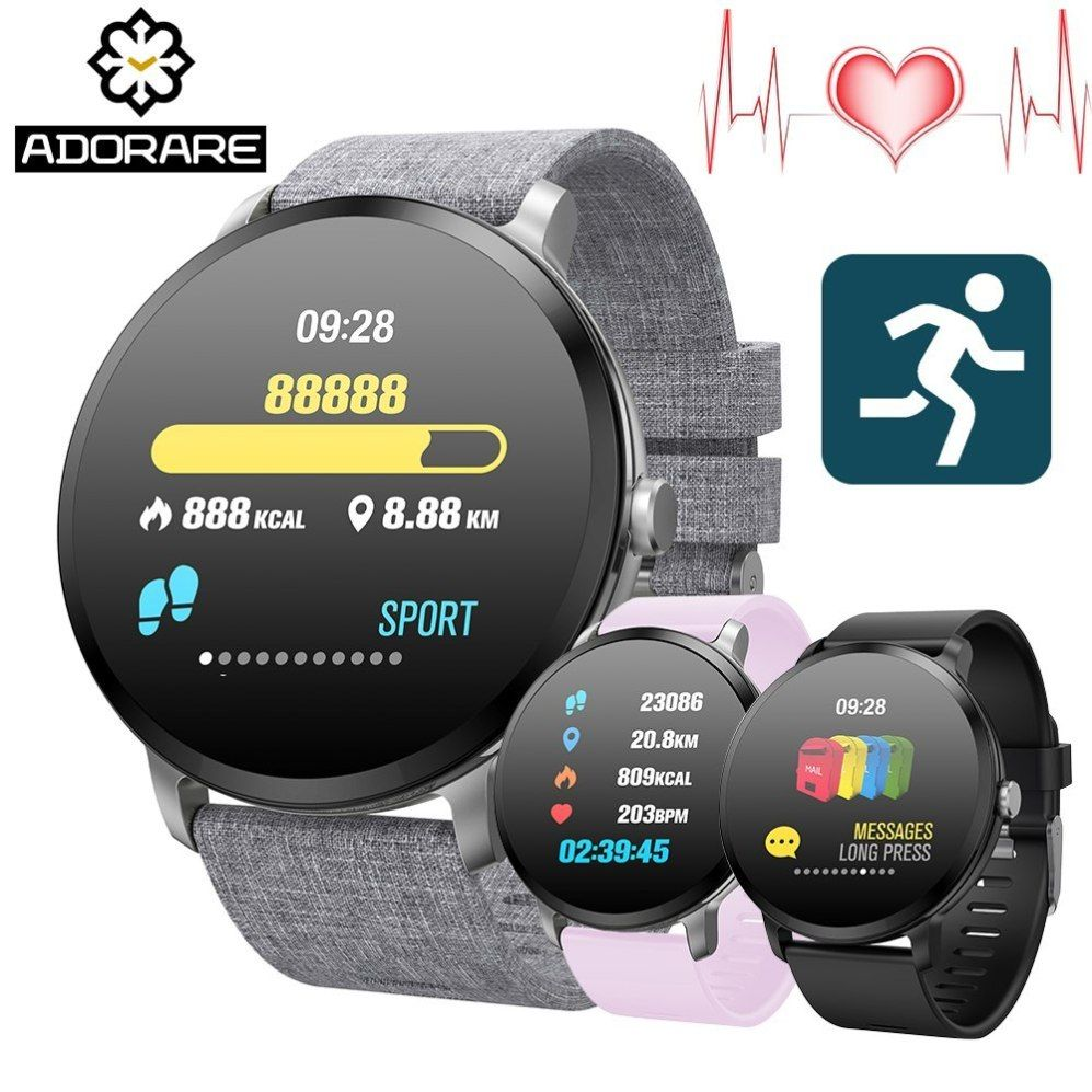 Adorare V11 Smart Watch Ip67 Waterproof Tempered Glass Activity Fitness Best Offer At Cloutwatches Com Smart Watch Apple Watch Features Cool Watches