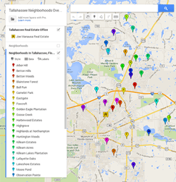 Where To Find A Map Of Tallahassee Neighborhoods Real estate