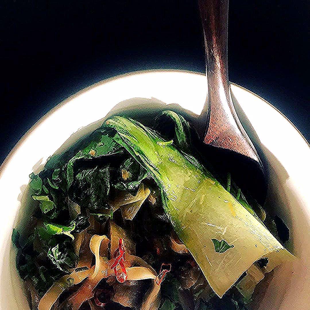 Thai curry noodle soup