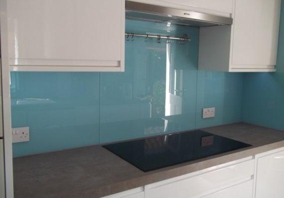 Salpicadero de vidrio para cocina cocinas casa - Salpicadero cocina ...