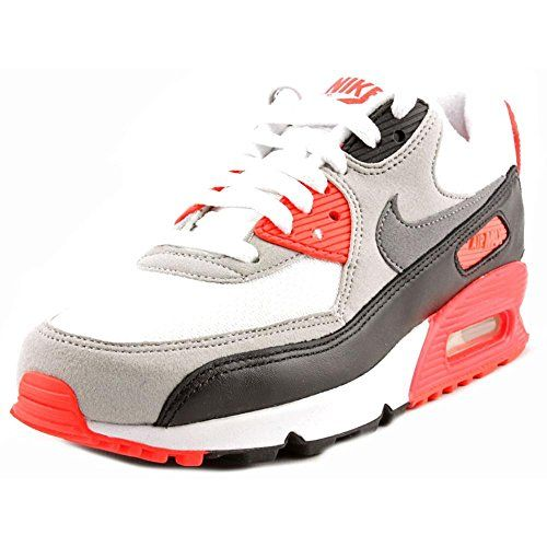 0c19ee99b4f64d Nike Womens Wmns Air Max 90 OG INFRAREDWHITECOOL GREYNTRL GREYBLACK 6 US      Click image for more details.