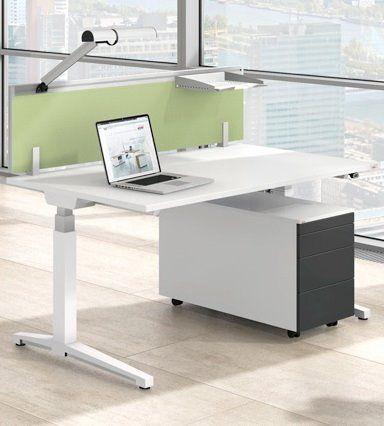 Canvaro Sit Stand Motorised Desks In White Stratford London Gumtree