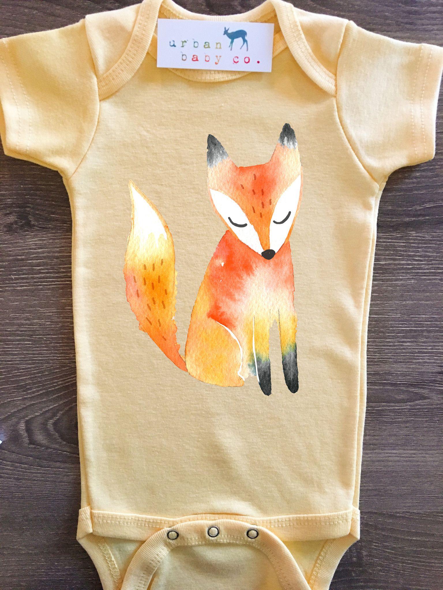 Fox Baby Boy Girl Uni Gender Neutral Infant Toddler
