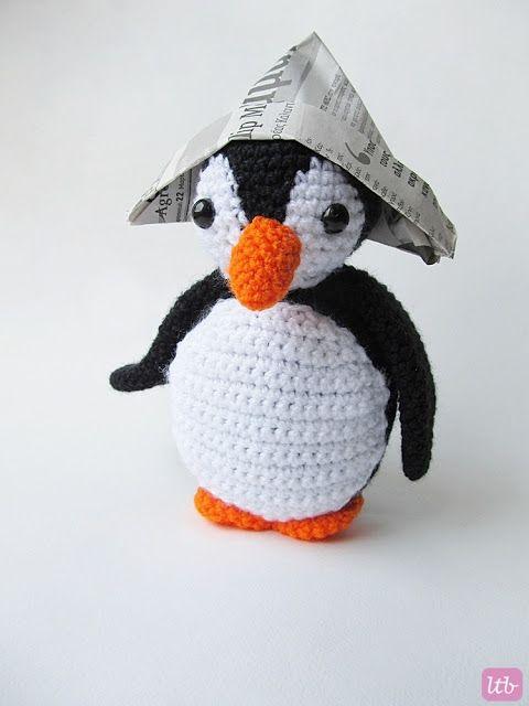 Amigurumi Oscar the Penguin}