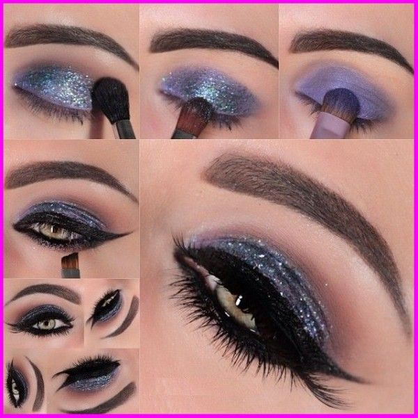 How To Apply Smokey Eye Shadow Step By With Pictures