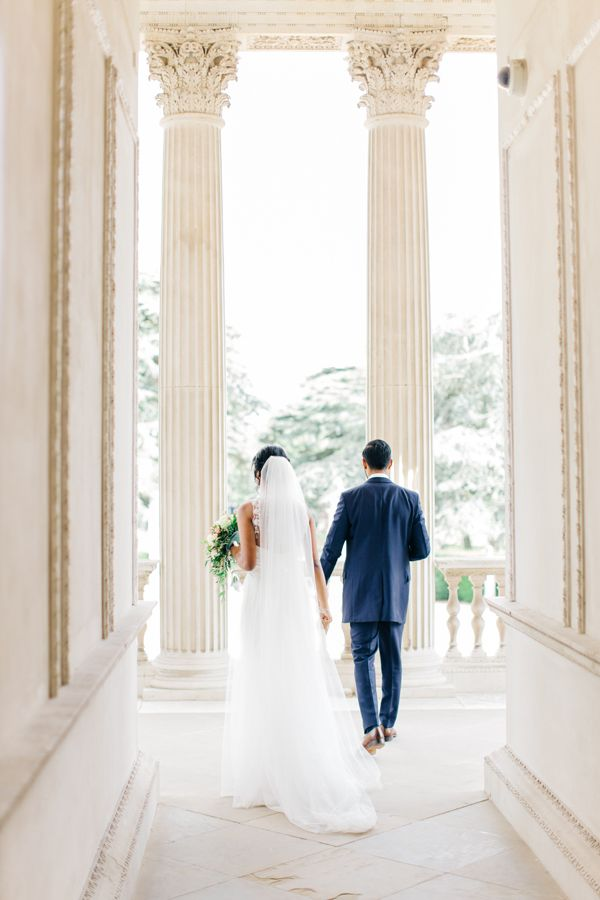 Chiswick House And Gardens Wedding Bride Groom Photography London Venue