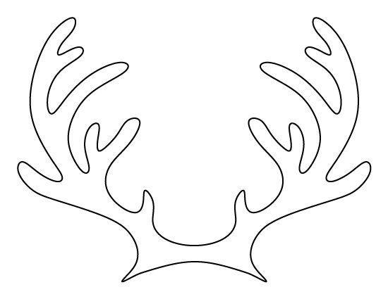 Karacsonyi Sablonok Reindeer Antlers Christmas Crafts Christmas Reindeer