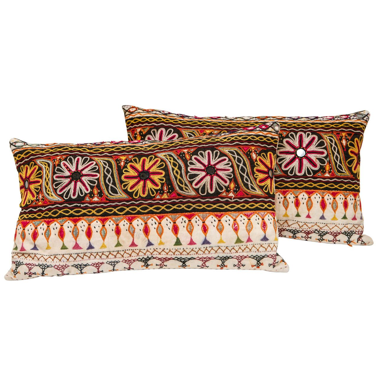 Kutch Indian Embroidered Pillows