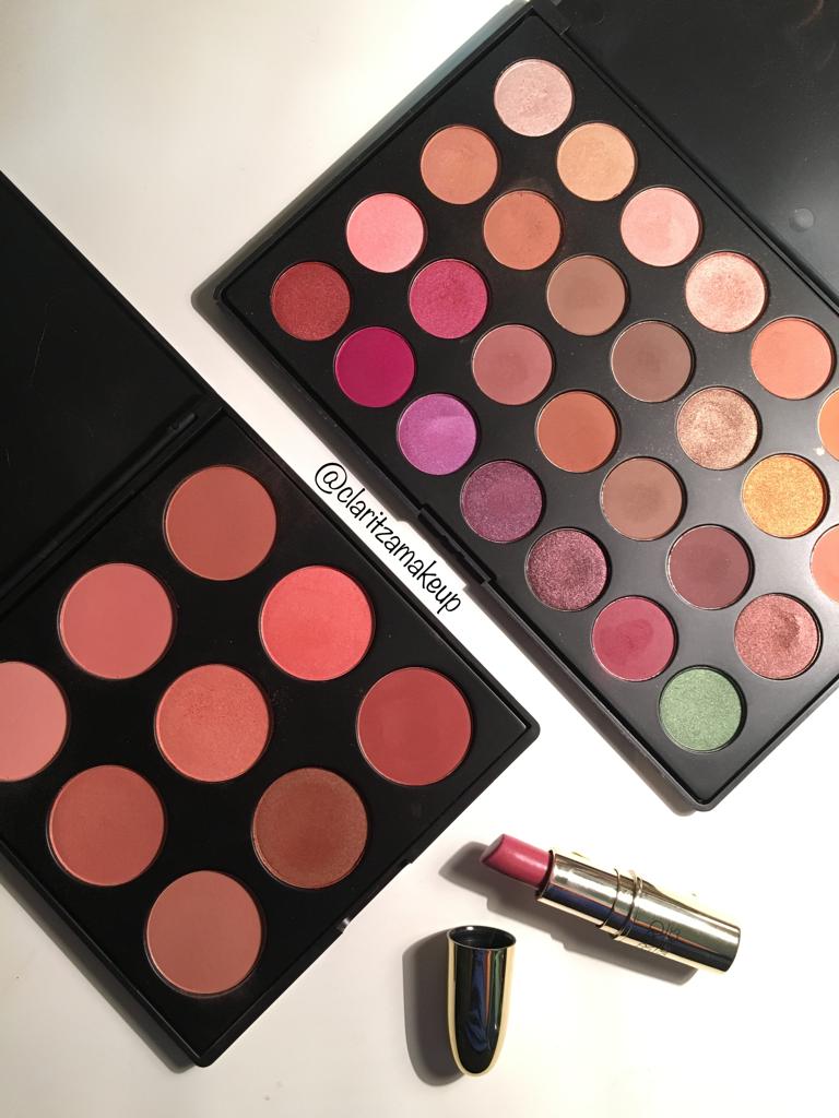 Today I used the Morphe 9N blush palette, Morphe X Jaclyn