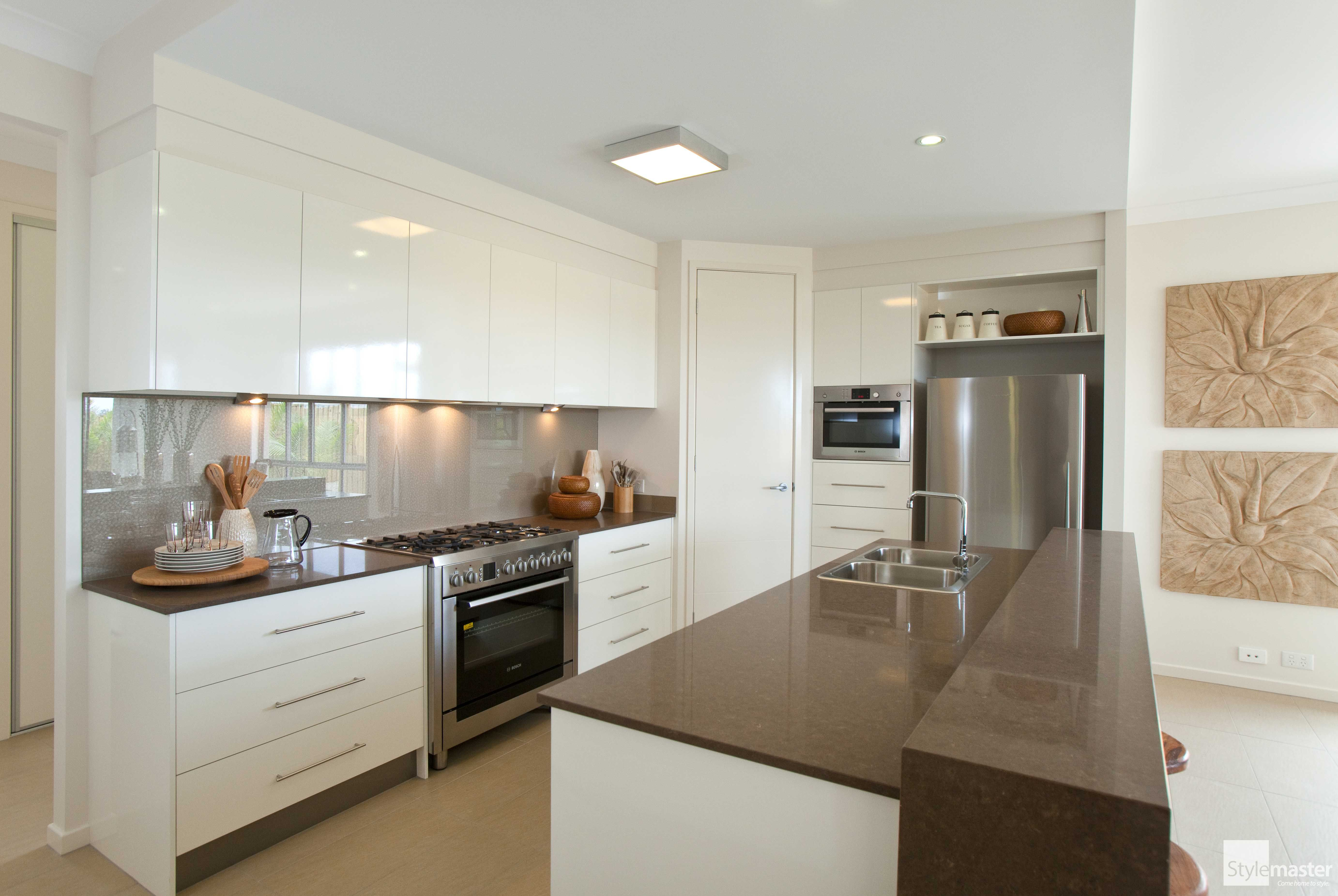 The Courtview kitchen by Stylemaster Homes. #homebuilder ...