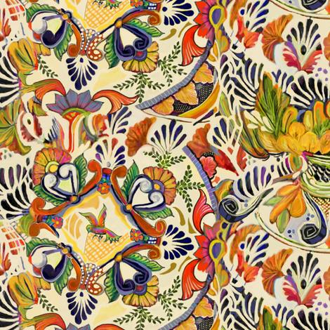 Fabric By The Yard Talavera Scramble Sewing Fabric