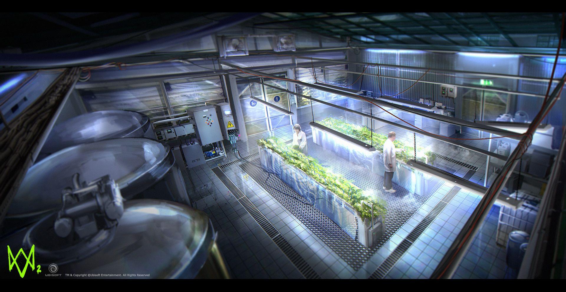 Artstation Watchdogs 2 Greenhouses Geoffrey Soudant Watch