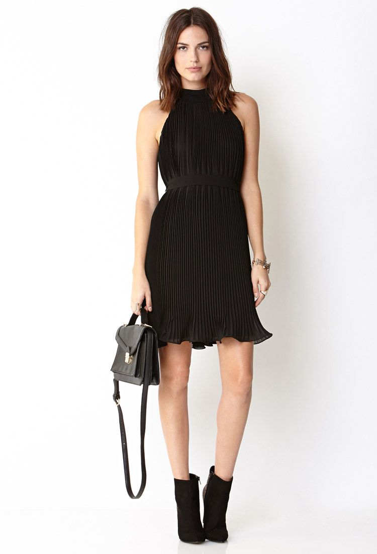 Showstopper accordion pleat dress forever fashion
