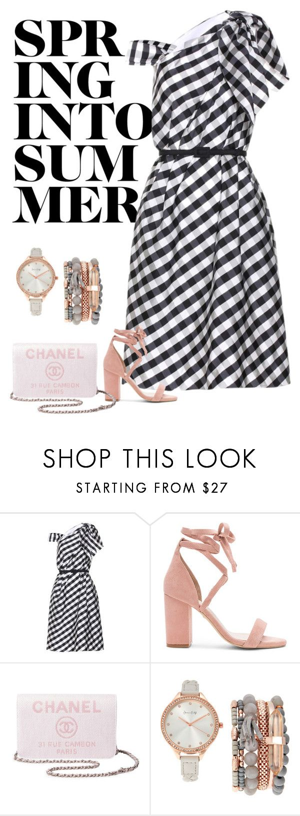 """Untitled #5063"" by linda56draco ❤ liked on Polyvore featuring Carolina Herrera, Raye, Chanel and Jessica Carlyle"