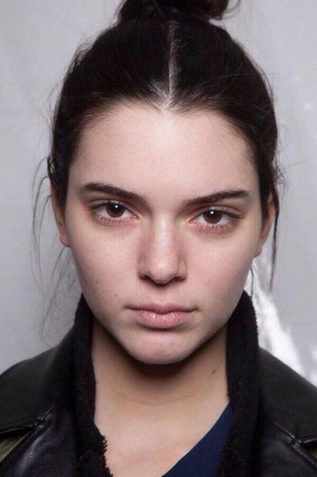 21 Celebrities That Prove Nomakeup Is Beautiful Kendall Jenner