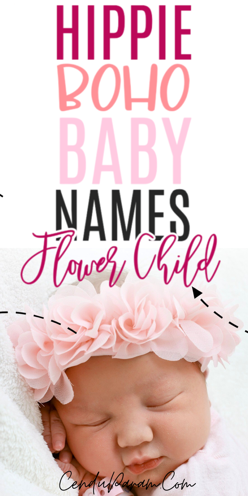 Hippie Earthy Boho Baby Names For Your Flower Child