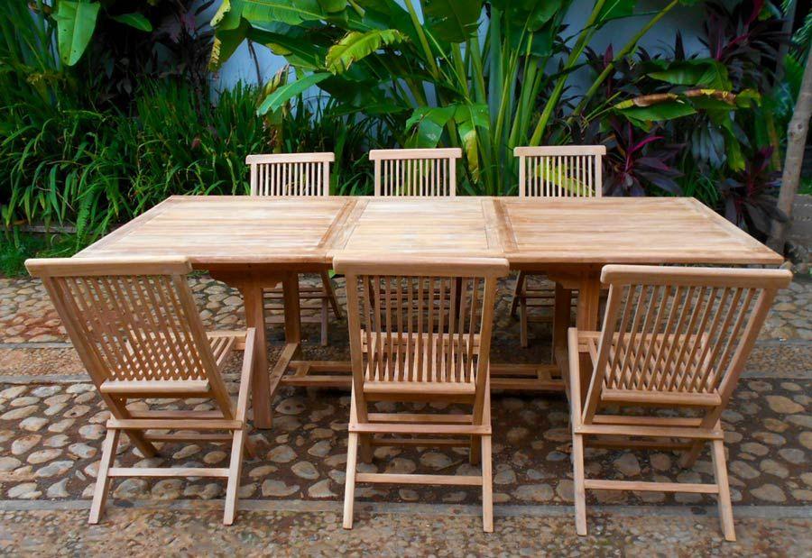 Salon de jardin SABAH en teck | Pinterest | Borneo, Salons and Dan