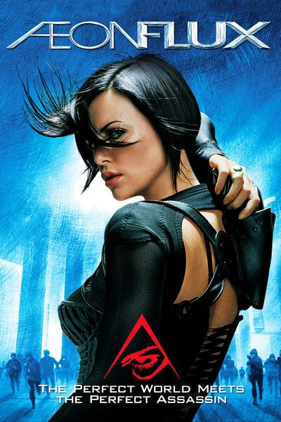 Aeon Flux Super Stylistic Scifi Classic Movie Love The Sets And Costumes Aeon Flux Sci Fi Movies Good Movies