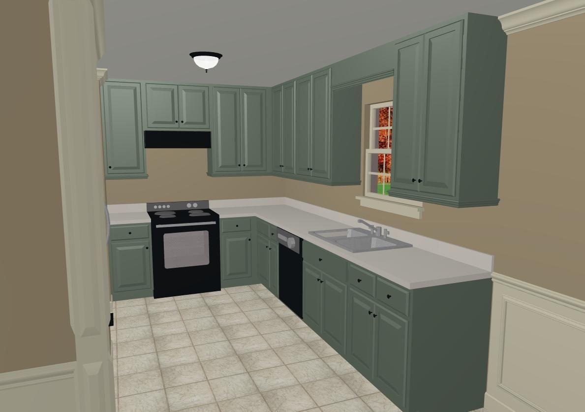 What Color To Paint Kitchen Cabinets Kuche Farbe Farbige Kuchenschranke Kuche Farbideen