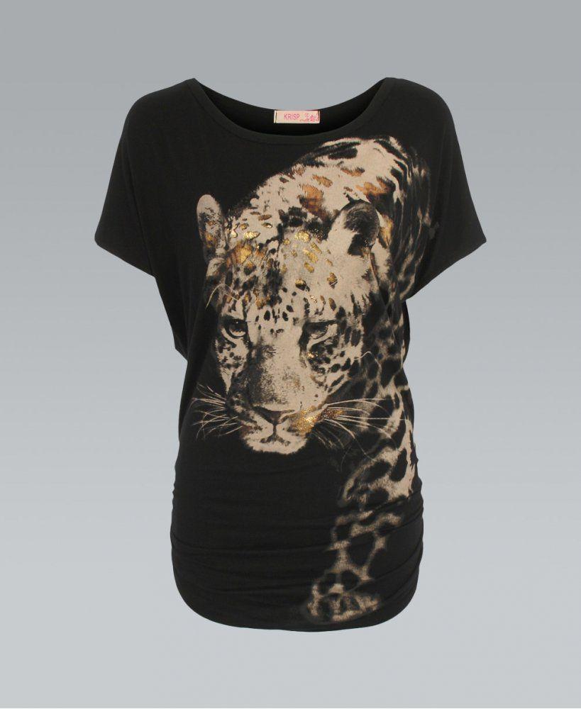 Image Result For Foil Print T Shirt For Ladies Foil Print