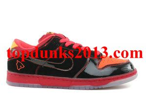 wholesale dealer 06321 7322c Promoting Hawaii Black Deep Orange Nike Dunk Low SB