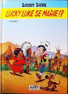 """""""Lucky Luke se marie ?"""" par Morris (1995) Hors commerce."""