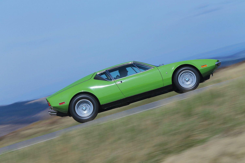 Fully restored 1972 De Tomaso Pantera, UK. Images courtesy
