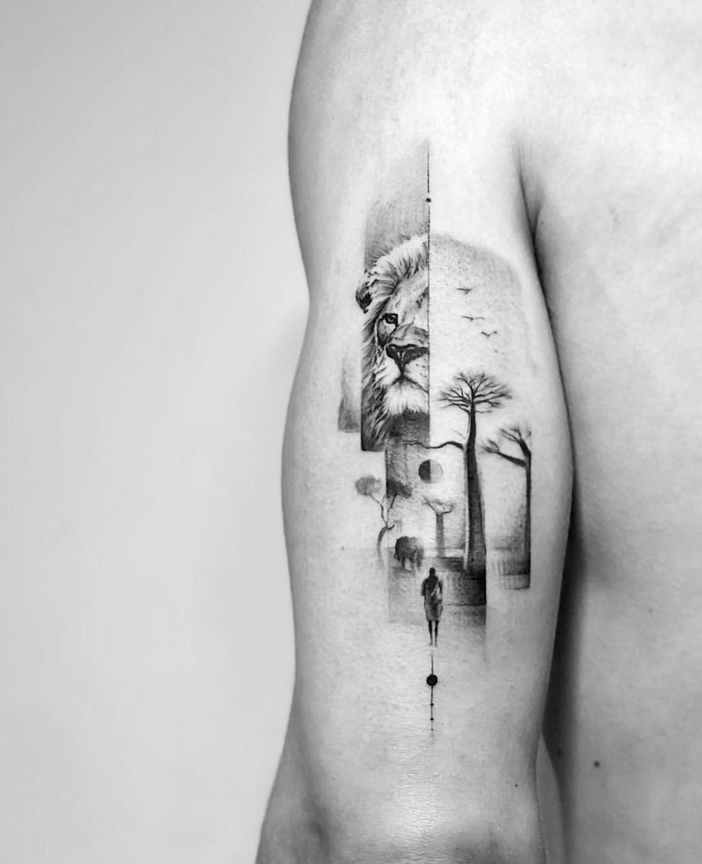 Für ausgefallene männer tattoos Kleine Tattoos