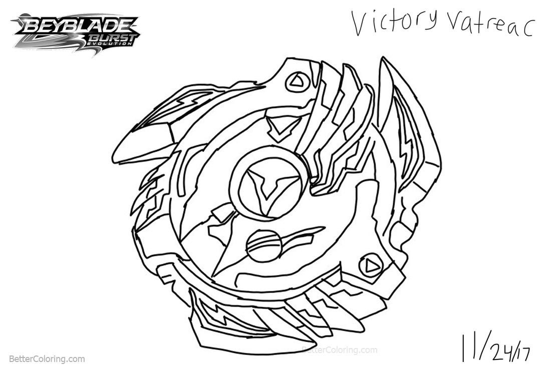 Beyblade Coloring Pages 14 Evolution Drawing Beyblade Burst For