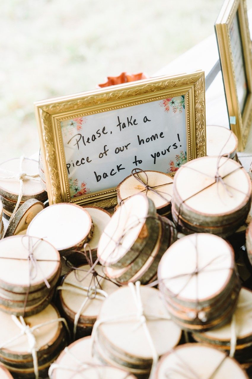 A DIY Woodland Themed Wedding | Favors, Weddings and Themed weddings