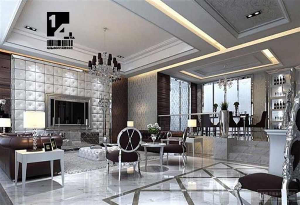 Chic Living Room  Glamour Home  Pinterest  Chic Living Room Alluring Luxury Modern Living Room Design Review
