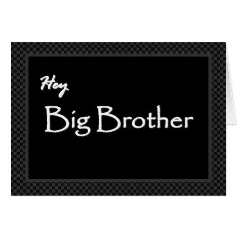 big brother best man invitation customizable groomsman cards and