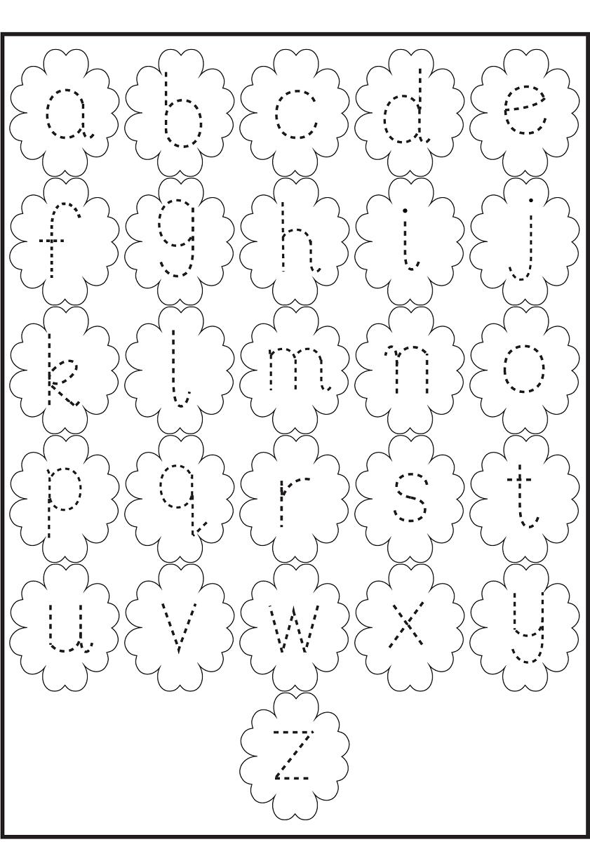 Traceable Alphabet Worksheets Kiddo Shelter Printable Tracing Letters Alphabet Worksheets Preschool Tracing [ 1200 x 841 Pixel ]