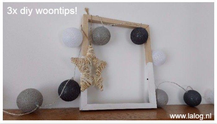 3x tijdloze DIY woonideeën | Pinterest